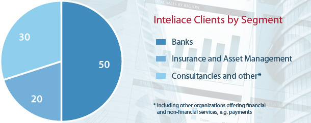 Inteliace Clients by Segment